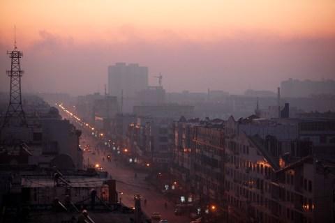 China pollution clickthru - Linfen