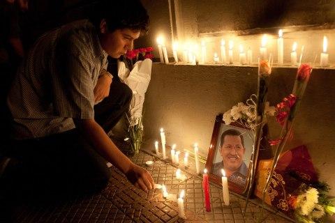 Venezuelans Mourn the Death of Hugo Chavez