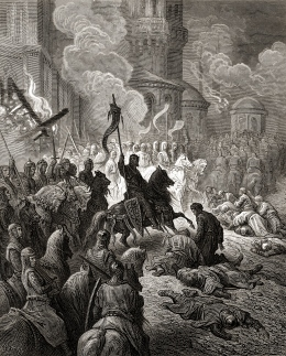 Entry of the Crusaders in Constantinople in 1204