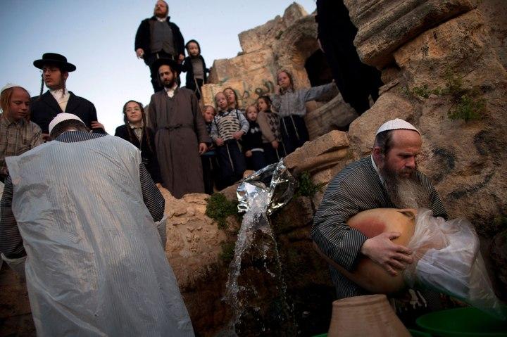 Ultra-Orthodox Jews Prepare for Passover