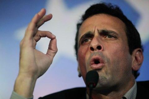 Venezuelan Opposition Leader