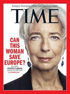 Christine Lagarde cover