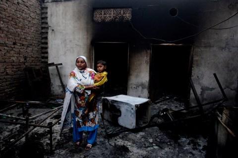 Attack on Pakistani Christians