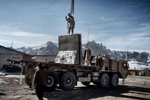Forward Operating Base Altimur, Logar Province, Afghanistan