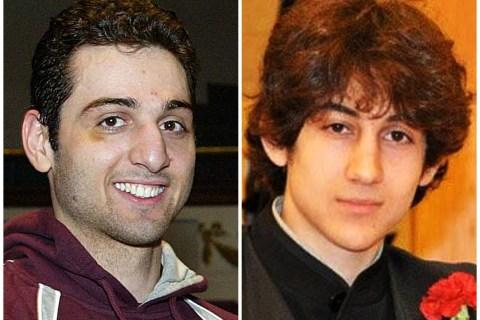 From left: Tamerlan, 26, and Dzhokhar Tsarnaev, 19.
