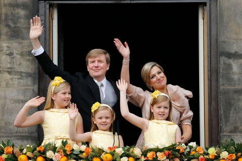 The Netherlands New King