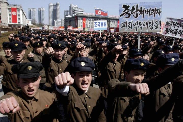 North Korean Rallying Cries