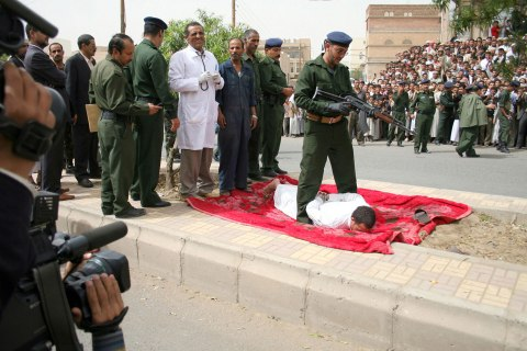 Yemeni man executed for rape and murder