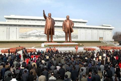 Kim Il Sung 101st anniversary