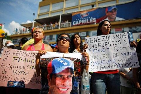 Protests Over Venezuela Election