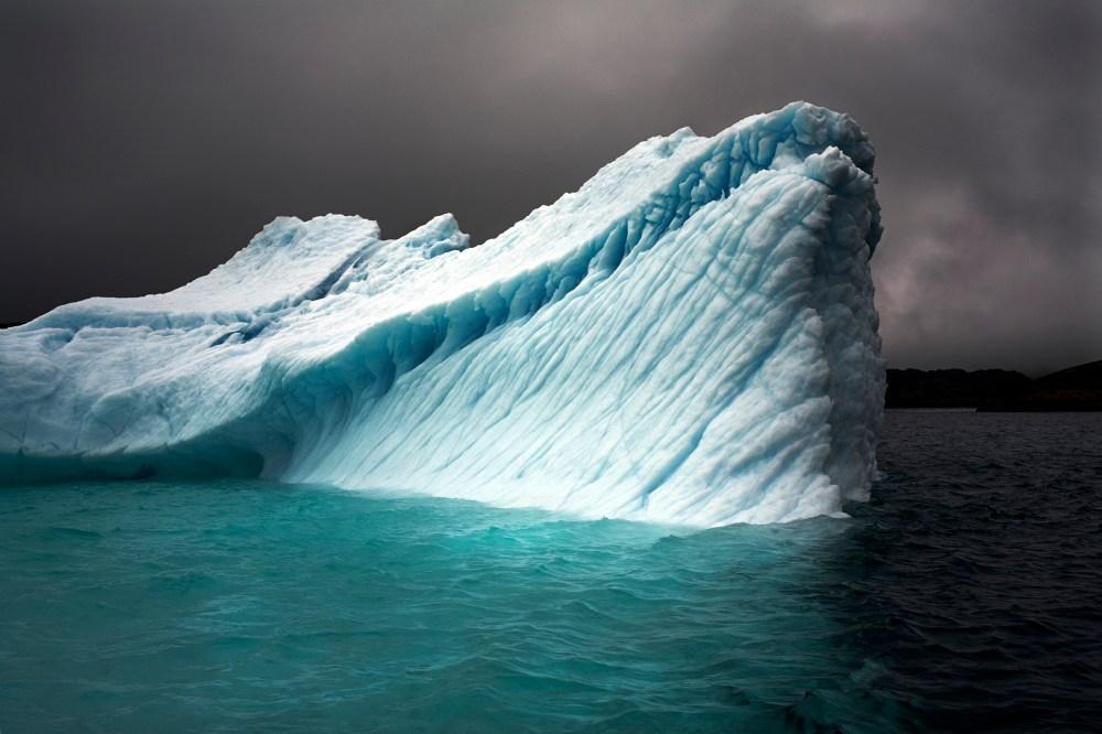 Breaching Iceberg - Greenland, August 8, 2008
