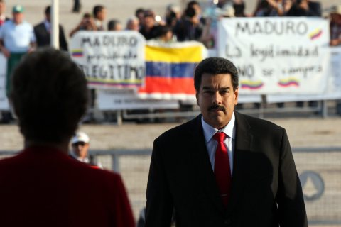 Venezuelan President meets with Brazilian counterpart