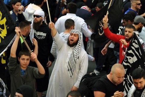Protest against film mocking Islam