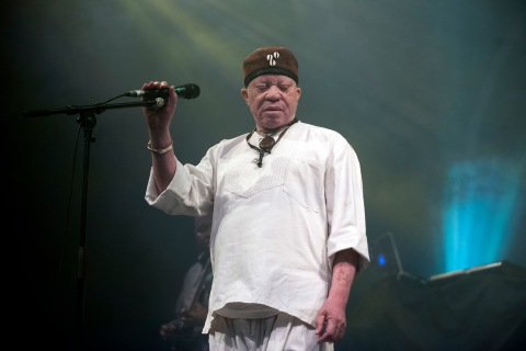 Salif Keita And Bwani Junction Perform At Celtic Connections Festival 2013