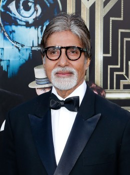 """Actor Amitabh Bachchan attends """"The Great Gatsby"""" world premiere at Avery Fisher Hall at Lincoln Center for the Performing Arts in New York City, on May 1, 2013."""