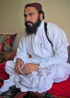 Deputy Pakistani Taliban leader Wali-ur-Rehman gestures as he speaks to a group of reporters in Shawal town, which lies between North and South Waziristan region in the northwest bordering Afghanistan, July 28, 2011.