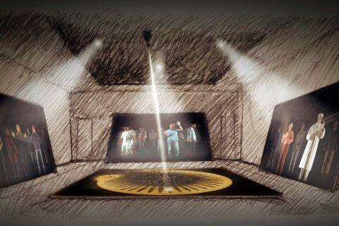 A multimedia presentation inspired by Genesis