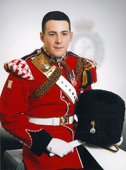 Drummer Lee Rigby, of the British Army's 2nd Battalion The Royal Regiment of Fusiliers.