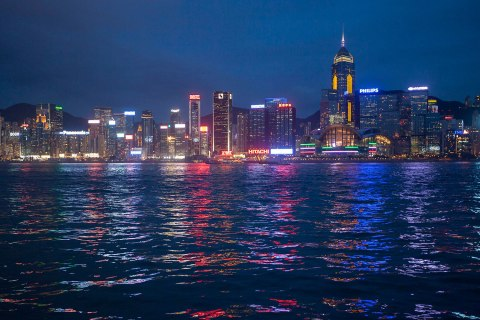 Hong Kong skyline - Seeking Refuge in Hong Kong
