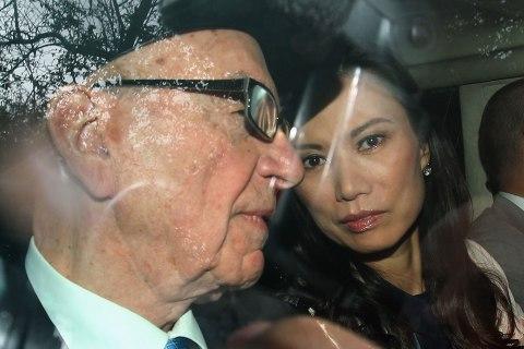 FILE:  Rupert Murdoch Files For Divorce
