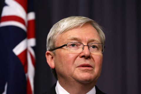 Kevin Rudd To Be Sworn In As Australian Prime Minister