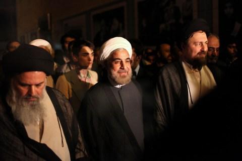 Hasan Rowhani Hasan Khomeini Mousavi Bojnourdi