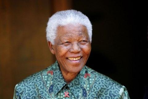 Nelson Mandela at his home in Johannesburg, on Sept. 22, 2005