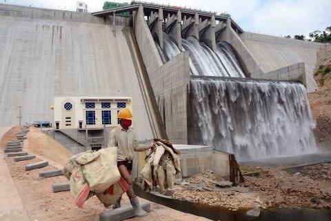 Cambodia's hydroelectric dam