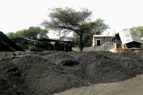 Chinese-owned Collum Coal Mine in Zambia