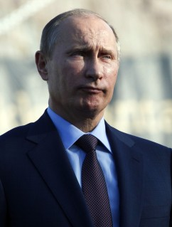 Russian President Vladimir Putin in Turku, Finland, on June 25, 2013.