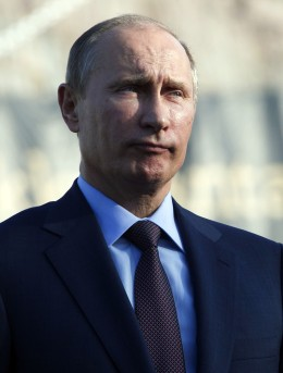 Russian President Vladimir Putin in Turku, Finland, on June 25, 2013.