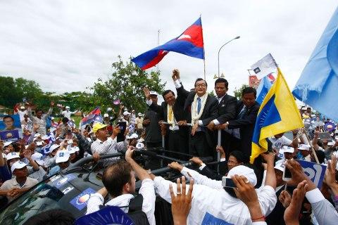 Sam Rainsy, Kem Sokha