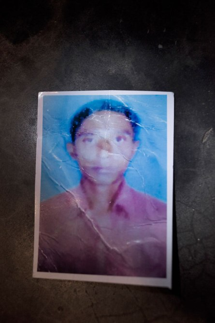 Mahedul, 27, worked as a cutting operator at the Phantom Tech garment factory, using his earnings to support his wife Rehana and 4-year-old son Romen. He is still missing.