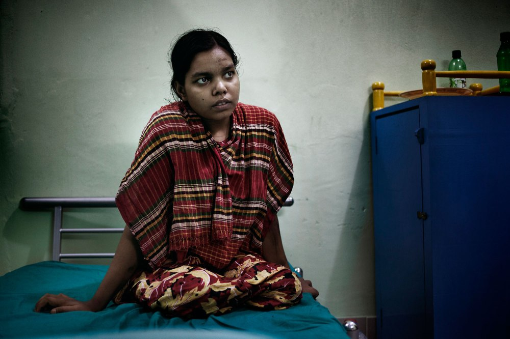 After 19-year-old Rehana was rescued from Rana Plaza, doctors amputated both her legs.