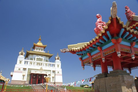 Central Buddhist temple in Kalmykia