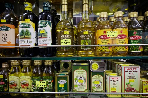 Images Of Vegetable Cooking Oil at Wholesail And Retail Outlets as Demand Grows