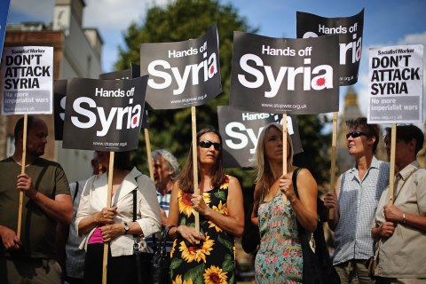 Parliament Recalled To Discuss The Response To Syria's Use Of Chemical Weapons