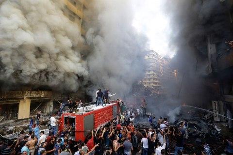 APTOPIX Mideast Lebanon Explosion