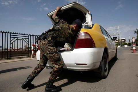 Mideast Yemen Embassy Security
