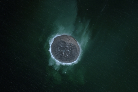 This island was created off the coast of Gwadar when Pakistan was hit by a 7.8-magnitude earthquake on Sept. 24, 2013.  Imagery collected on Sept. 26, 2013.
