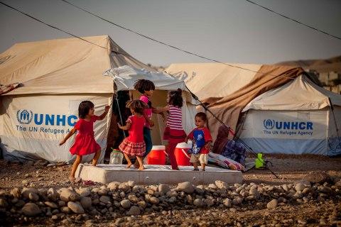 Quru Gusik refugee camp