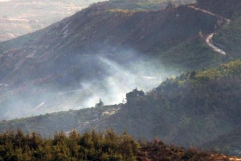 Turkey Syria Helicopter