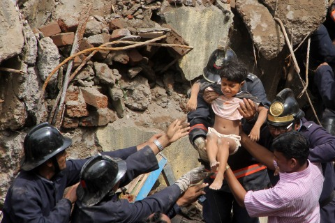 India Building Collapse Mumbai