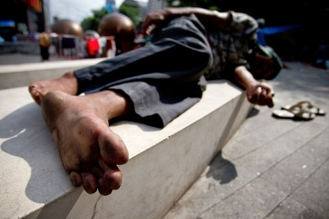 Thailand homeless