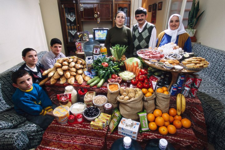 Turkey: The Celiks of Istanbul - Food expenditure for one week: 198.48 New Turkish liras or $145.88. Favorite Foods: Melahat's Puffed Pastries.