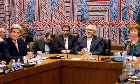 New York John Kerry, Mohammad Javad Zarif, Catherine Ashton