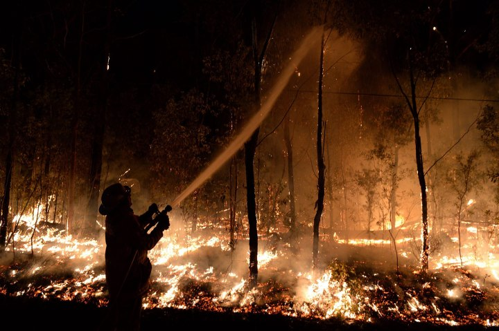 Hundreds of houses feared lost to forest fires in Australia