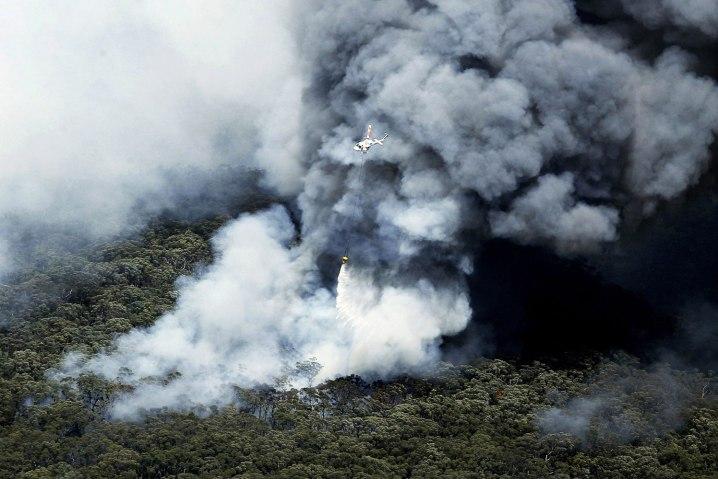 Devastating bushfires in New South Wales