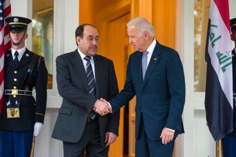 Joe Biden, Nouri al-Maliki