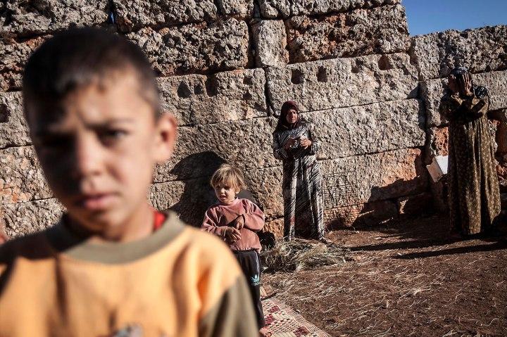 Mideast Syria Ruins Photo Essay